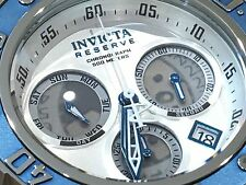 21644 Invicta Reserve Men 52mm Subaqua Sea Dragon Quartz Chronograph Strap Watch