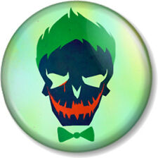 "Suicide Squad The Joker Skull 1"" 25mm Pin Button Badge DC Comics Antihero Movie"