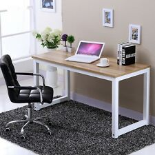 Modern simple Wooden Corner Computer PC Desk Home Office Study Table livingroom