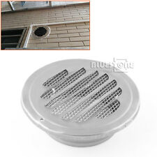 4'' Celling Wall Stainess Circle Air Vent Grille Ducting Ventilation Cover Wall