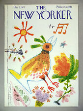 New Yorker Magazine - May 2, 1977 - FRONT COVER ONLY ~~ Joseph Low art