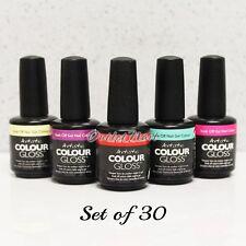 Artistic Nail Design Colour Gloss SET OF 30 Colors Gel Polish Lot Kit   SHIP 24H