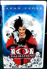 "Les 101 Dalmatiens/GLENN CLOSE/Vhs/WITH ""5 FREE GIFTS""/VERSION FRANCAISE-FRENCH"