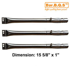"""15 5/8"""" Replacement Straight Stainless Steel Burner for BBQ grill Brinkmann"""