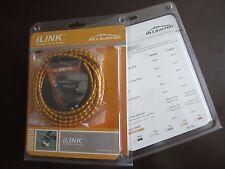 New Alligator I-Link cable set, 5mm, SHIFT GEAR- Gold color