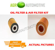 PETROL SERVICE KIT OIL AIR FILTER FOR MERCEDES-BENZ A140 1.4 82 BHP 1997-04