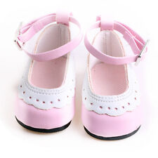 gift for kid fashion boot shoes for 18inch American girl doll party b378