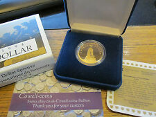 1994 1 ONE DOLLAR CANADA PROOF COIN Remembrance Boxed War Memorial Loonie dollar