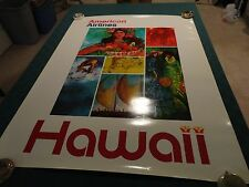 "AMERICAN AIRLINES ORIGINAL ""ENDLESS SUMMER"" HAWAII 30"" x 40"" Poster"