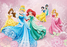 Disney Princesses Girls Bedroom PHOTO WALLPAPER WALL MURAL PICTURE (8- Town)