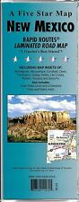 State Map of New Mexico, Rapid Routes Folded & Laminated, by Five Star Maps