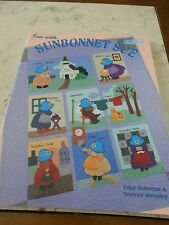 Fun With SUNBONNET SUE  By Terrece Beesley & Trice Boerens QUILT BOOK