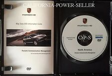 Porsche 997 C2 North America Map Navigation DVD 911 05-08 987 Cayman Boxster
