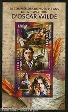 CENTRAL AFRICA 2015 115th MEMORIAL ANNIVERSARY OF OSCAR WILDE SHEET  MINT  NH
