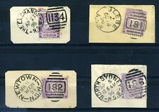 NEW SOUTH WALES QV NUMBER POSTMARKS