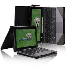 """For 10.1"""" ASUS Transformer Book T100TA Triple Keyboard Leather Case  K2MA"""