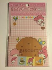 Rare Vintage Sanrio Original Japan Me Melody Mini Stationary Letter Set Classic