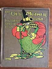 The Old Mother Goose Nursery Rhyme Book 1928 1st Edition Anne Anderson Art Deco