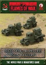 Flames of War - Soviet: SU-12 Self-propelled Gun Battery SBX26