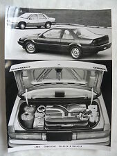 C0001) Chevrolet Corsica & Beretta - Presse Foto Werkfoto press photo 1988