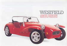 Westfield SE/SEi Ford based kit car original colour Sales Brochure