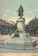 BF34542 milano monumento a c cavour italy   front/back scan