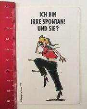Aufkleber/Sticker: Ich Bin Irre Spontan Und Sie? - Pentax 1993 (16051630)