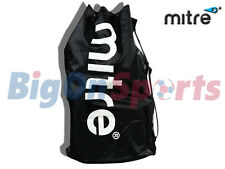 MITRE - 12 FOOTBALL BALL NYLON CARRY SACK BAG HOLDALL H6028
