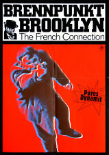 The French Connection - Brennpunkt Brooklyn ORIGINAL DIN A2 Kinoplakat Hackman
