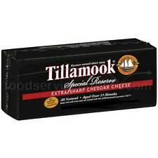 Tillamook Special Reserve Extra Sharp Cheddar Cheese, 5 Pound -- 2 per case.