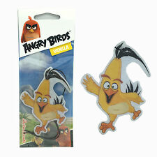 Angry Birds CHUCK Hanging Car Home Air Freshener Freshner Scent - VANILLA