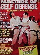 6/75 MASTERS OF SELF DEFENSE JIM GIBSON C.K. KIM KARATE KUNG FU MARTIAL ARTS