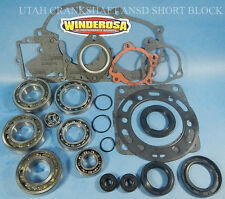 NEW POLARIS ATV 350 350L 90-03 SPORT COMPLETE ENGINE BEARINGS GASKET REBUILD KIT