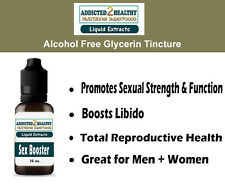 Sex Booster Glycerine Tincture 15 ml- Horny Goat Weed,Damiana,Maca,Yohimbe