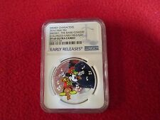 2016 Niue .999 1 oz. Silver Disney Mickey Mouse - Band Concert NGC PCGS  PF69