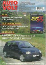 Auto Volt - Settembre 1999 - No.759 - Renault Clio II depuis mars 98 essence