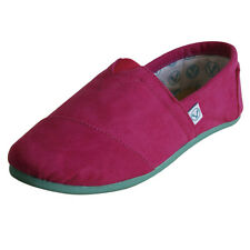 Korvas NEW Hot Pink Shoe w/ Teal Bottom Rare in US from Mexico Size 22 US 5 5.5