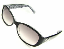 Coach Sunglasses Anna S439, Gloss Black, Fade Gray Lenses, Save!!