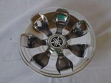 Yamaha Genuine Golf Car Cart Hubcaps Chrome Wheel Covers