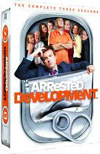 Arrested Development . The Complete Season 1 2 3 . Jason Bateman . 8 DVD . NEU