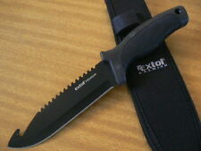 Extol 270MM Premium Gut Hook Camping Survival Bowie Military Tactical Knife Tool