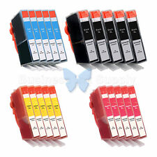 20+PK 564XL New Ink Cartridge W/CHIP 564XL *INK LEVEL* 564XL (5BK+15CLR) for HP