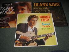 LOT OF 3 DUANE EDDY VINYL LP'S  EXCELLENT CONDITION