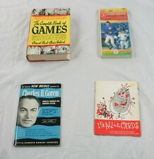 Lot of 3 Card Game Books Bridge Complete & 1987 Yankees Information Guide B49