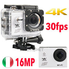 Pro Cam 4K SPORT WIFI ACTION CAMERA HD 30FPS 16MP VIDEOCAMERA SUBACQUEA GOPRO X3