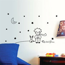 Little Prince Wall Sticker Moon Decoration Star Wallpaper Home Decor Room Decals