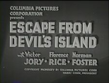 ESCAPE FROM DEVILS ISLAND 1935 (DVD) VICTOR JORY