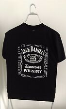 Official JACK DANIELS Big classic logo distressed style T-Shirt