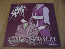 SETE STAR SEPT /CARCASS GRINDER split 7inch GRIND NOISE  7MON GORGONIZED CSSO