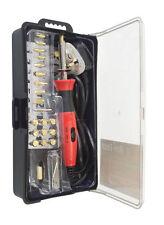 """""""look"""" 30W conjunto de soldadura de pluma de grabación de madera pirograbado Tool Kit Con Consejos + base"""